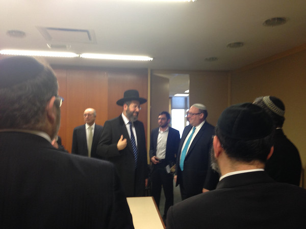 Chief Rabbi Lau (05/08/14)
